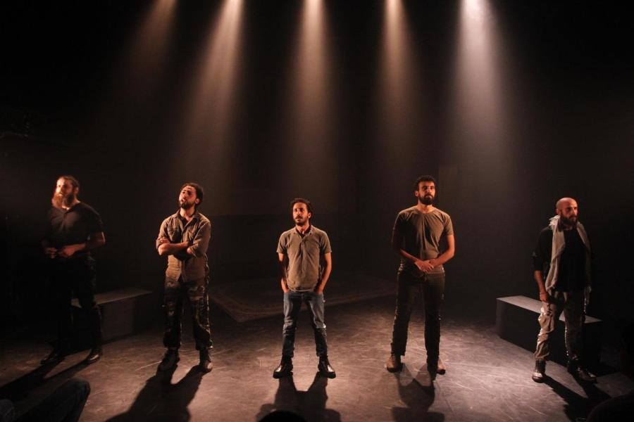 The Siege is based on the 2002 event that Palestinian fighters were trapped in the Church of the Nativity in Bethlehem for 39 days. Starting Oct. 12, this story has been brought to the stage of NYU's Skirball Center for the Performing Arts by the Palestinian Freedom Theatre.