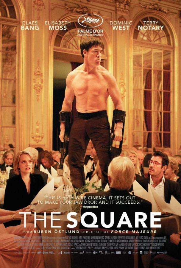 The new Rube Östlund movie, The Square is a comedy-drama that follows a museum curator and the obstacles he faces when hiring a public relations team for his new installation. The movie hits the cinemas on Oct. 27 in the US.