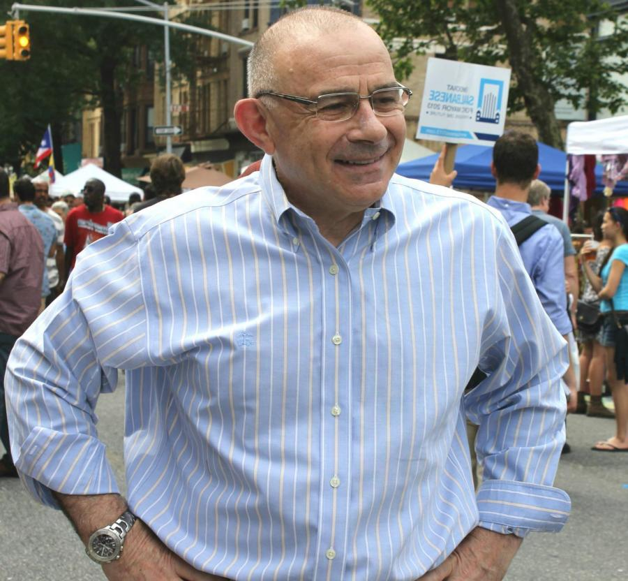 NYU alum Sal Albanese is running for mayor in New York City this upcoming election on Nov. 7.