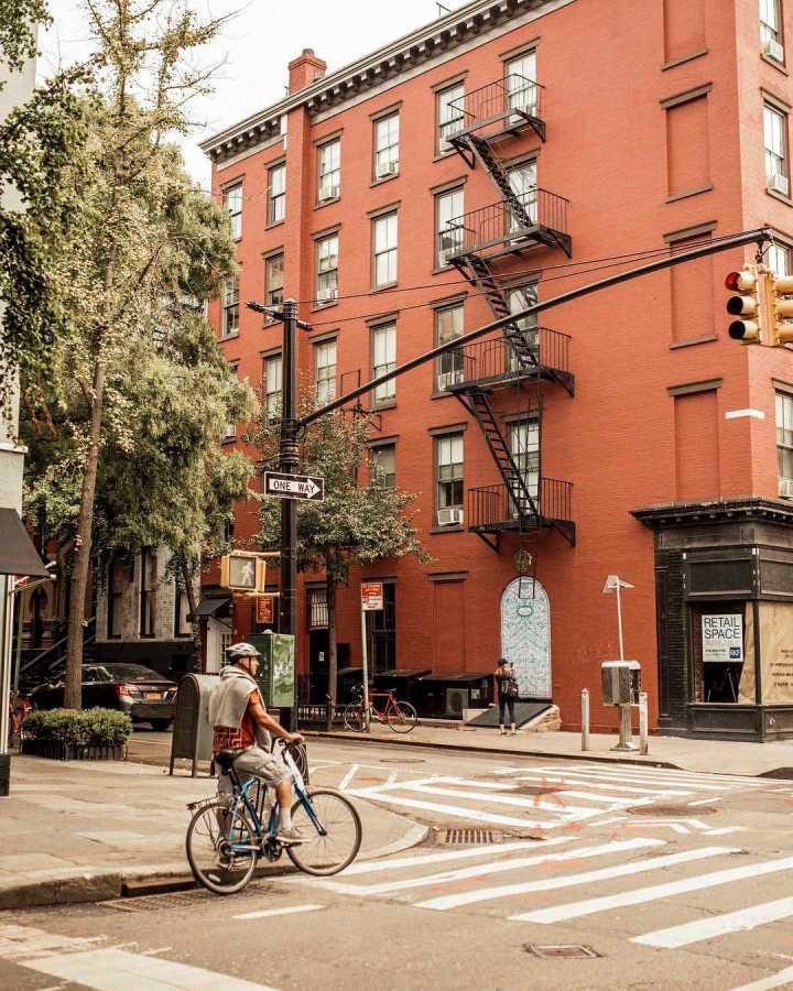 Bleecker St, is now 30% vacant due to the drastic increase in online shopping. The #ShopBleecker movement is being advertised in the area to save the street's vacancies.