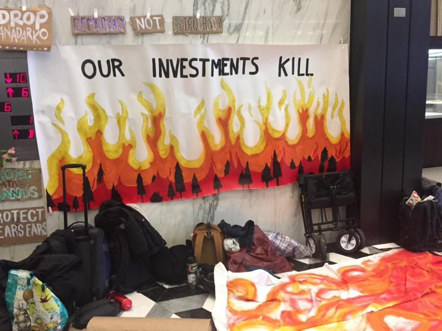 NYU Divest and NYU SLAM attempted conversations with some members of the Board of Trustees with limited success.
