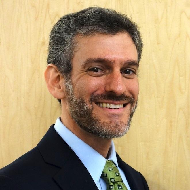 NYU's newly appointed Vice President of Sustainability Cecil Scheib.