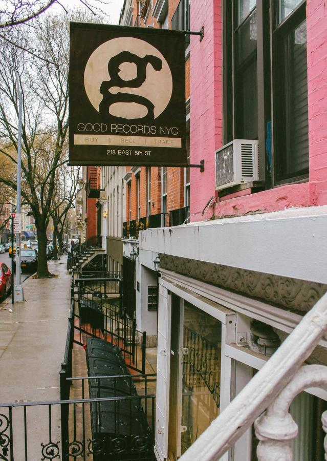 Good Records NYC, located in the East Village.