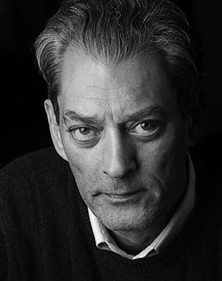 Paul Auster, author of 4321.