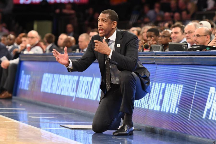 UConn basketball head coach Kevin Ollie.