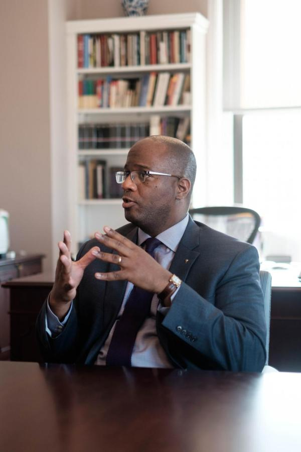 CAS Dean Gene Jarrett talks about his hopes for his time at NYU.