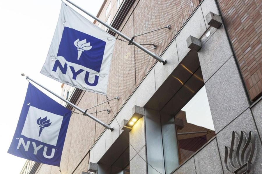 An NYU building. (Photo by Anna Letson)
