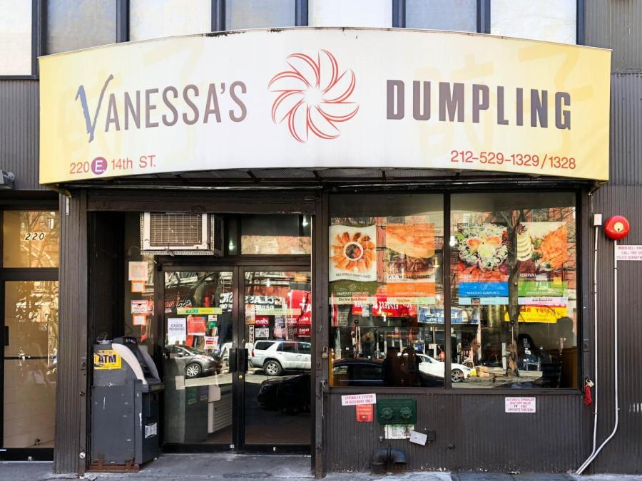 Vanessa's Dumpling on East 14th Street reopened on April 20, with a pending health grade following a health inspection discovering mice, filth and flies on the premises.