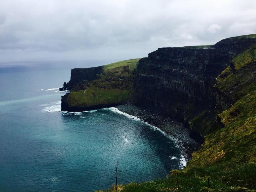 Cliffs of Moher in County Clare, Ireland.