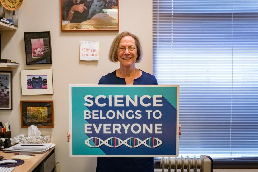 Carol Shoshkes Reiss is a co-organizer of March for Science New York City 2018. She is a professor of Biology, Neural Science, and Global Public Health at NYU, and the co-director of the NYU Science Training Enhancement Program (STEP).