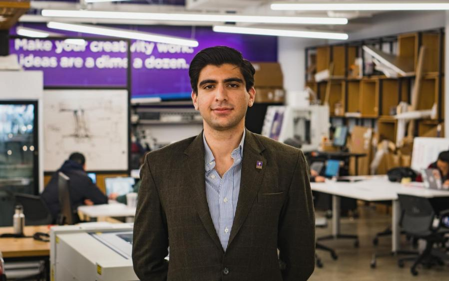 Syed Ali Shehryar is a Fulbright Scholar at NYU doing his Masters in Computer Science. He is a co-organizer of the march.