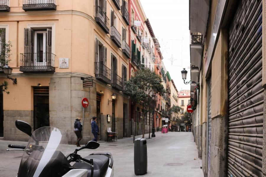 A street in Madrid.