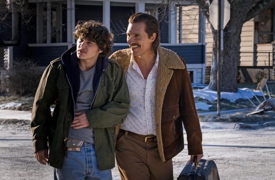 Richie Merritt and Matthew McConaughey in