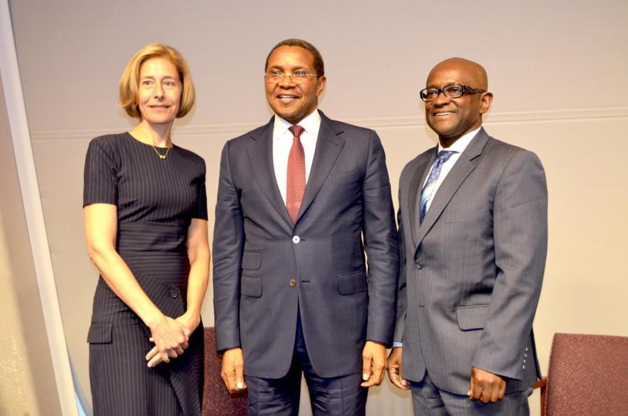 Former Tanzanian President Speaks at NYU