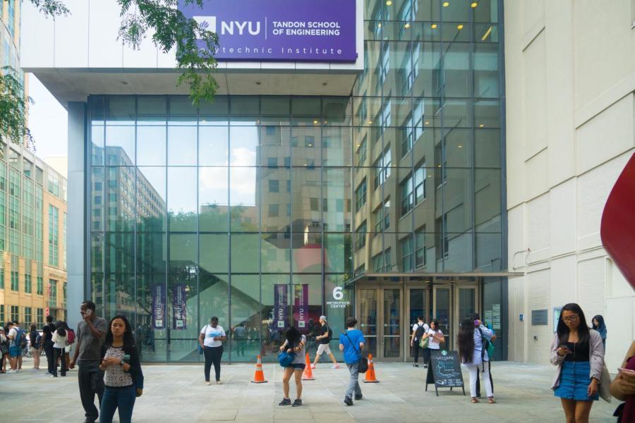 NYU Tandon School of Engineering ( Photo by Alana Beyer)