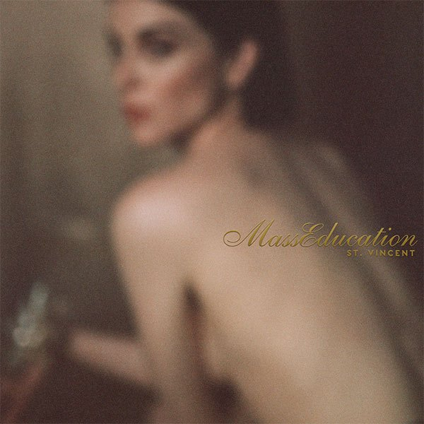The cover for St. Vincent's stripped down album