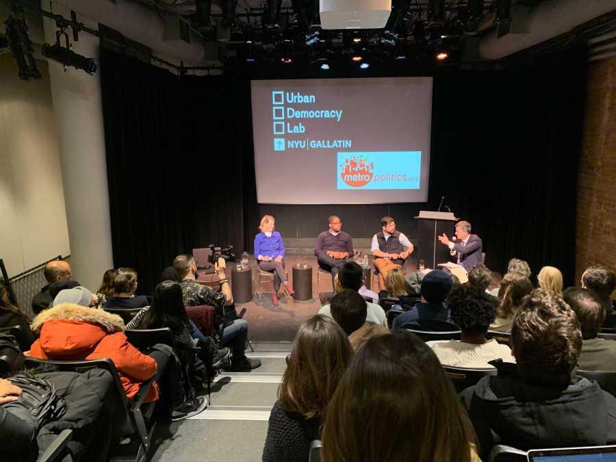 Gallatin event hosts local politicians to discuss progressivism. (Photo by Emily Mason)
