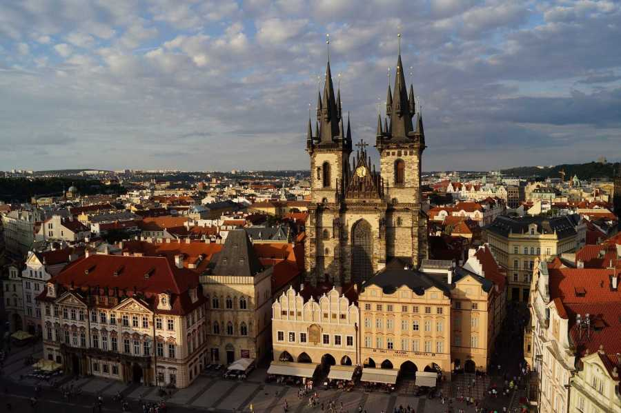 The Old Town Square in Prague, one of NYU's study abroad destinations. (via NYU Tisch)