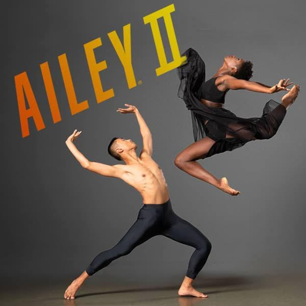 Poster for the Alvin Ailey Dance Theater. (via Facebook)