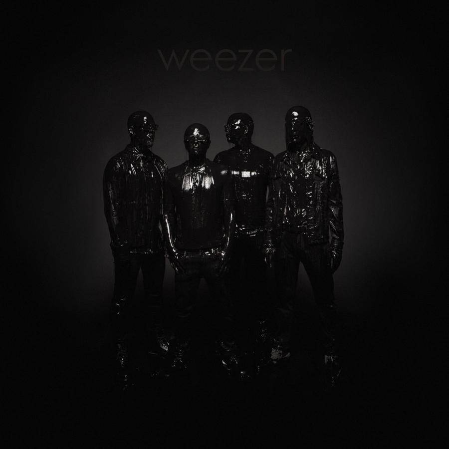 Weezer's Black Album Cover. (via Facebook)