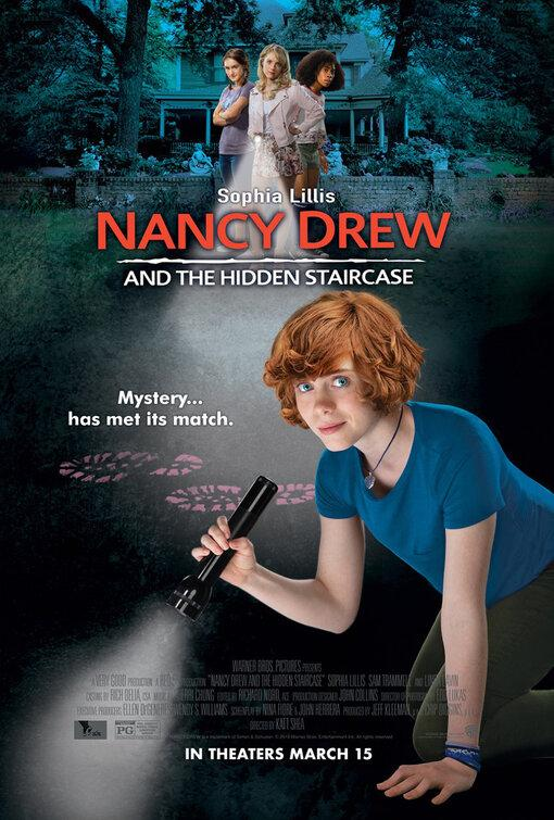 Movie poster for Nancy Drew and the Hidden Staircase (2019). (via Warner Bros. Pictures)