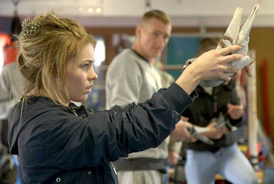The main subject of the documentary, Gemma, a troublemaking teenager who comes of age in a declining Scottish steel town. (via Falco Ink)