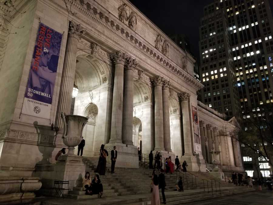 This year's Moonlight Ball was hosted at the New York Public Library. (Photo by Akshay Prabhushankar)