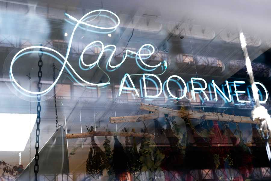 Located at 269 Elizabeth St., Love Adorned is a place to shop for one-of-a-kind jewelry. (Photo by Jorene He)