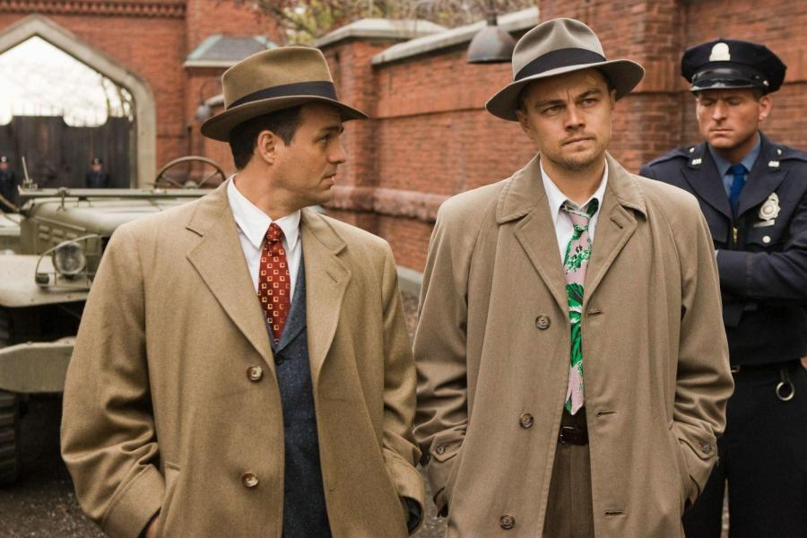 Leonardo DiCaprio and Mark Ruffalo as U.S. Marshals in