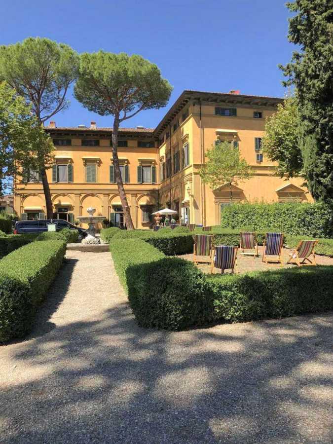 A view of Villa Natalia, on NYU Florence's campus. (Photo by Lisa Cochran)