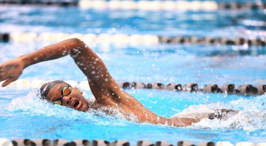 Graham+Chatoor%2C+swimmer+for+the+NYU+men%E2%80%99s+team%2C+competed+at+the+2019+Pan+American+Games.+%28via+NYU+Athletics%29