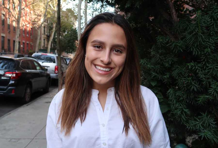 Sophomore Adriana Moreno is the chair of the Student Sustainability Committee. (Staff Photo by Chelsea Li)