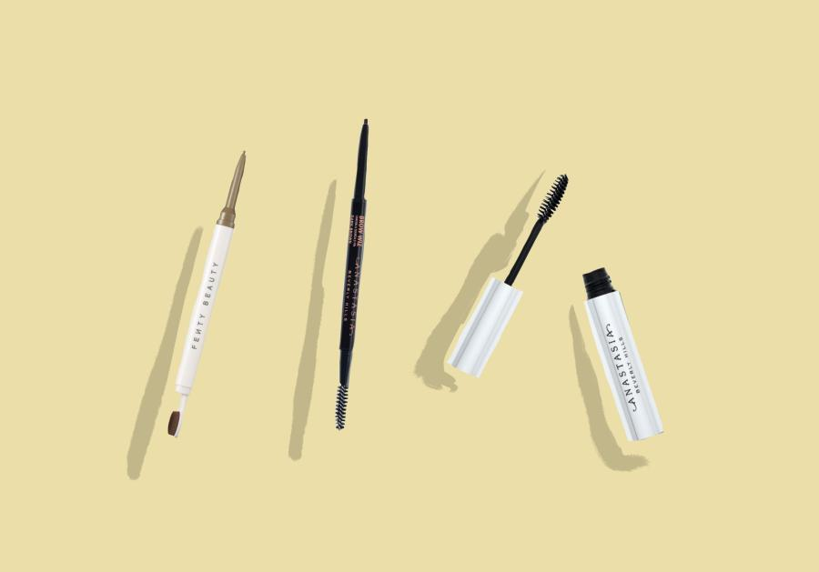 From Anastasia to Glossier, the WSN Culture Desk recommend some of their favorite eyebrow products. (Staff Illustration by Min Ji Kim)