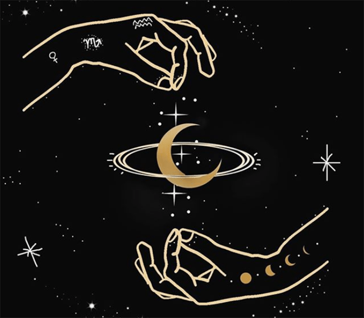 Art print designed by Annalise Dragonetti, a CAS junior, who owns a successful business selling jewelry, home decor, art prints, and tarot cards. (Via Instagram @terrasoleil)
