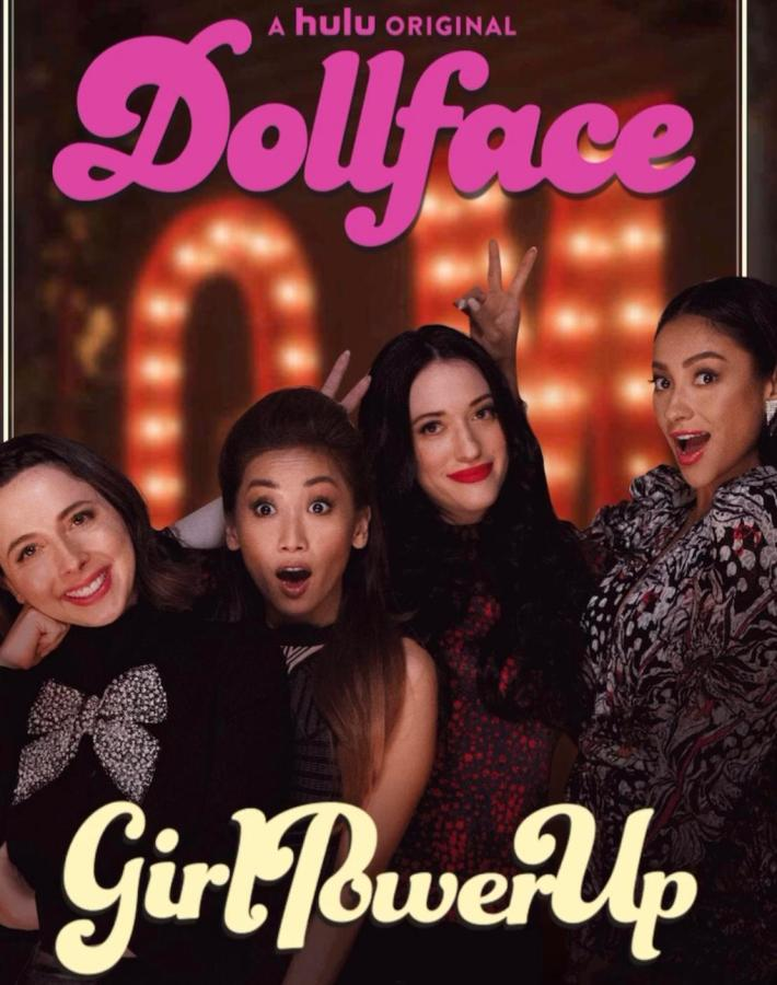 Dollface, a Hulu original series, launched its first season on Nov. 15. (Via Twitter @dollface)