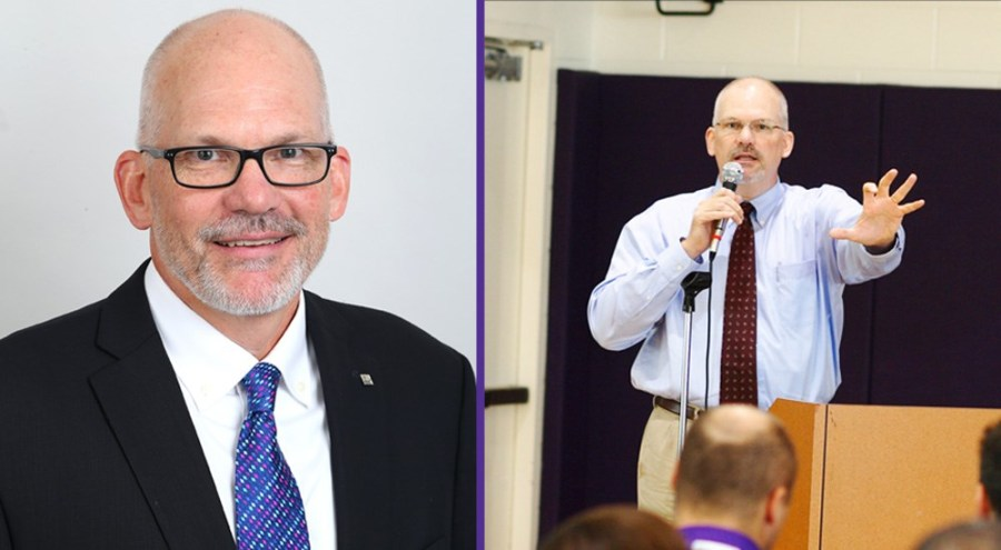 NYU's Director of Athletics Chris Bledsoe will step down from his role this coming August. (via NYU Athletics)