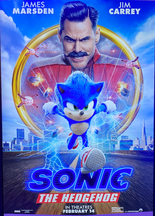 Sonic's design is significantly improved from what we've seen at the film's reveal. The visual success, nonetheless, couldn't save the film from its flimsy plot. (Photo by Hassan Elgamal)