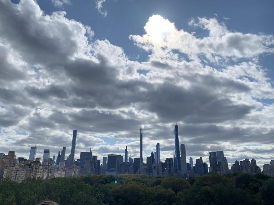 New York City today is no longer the same busy metropolis as it was a month ago due to the COVID-19 outbreak. Students still in NYC discuss their experiences and the changes they've noticed since NYU has closed. (Photo by Manasa Gudavalli)