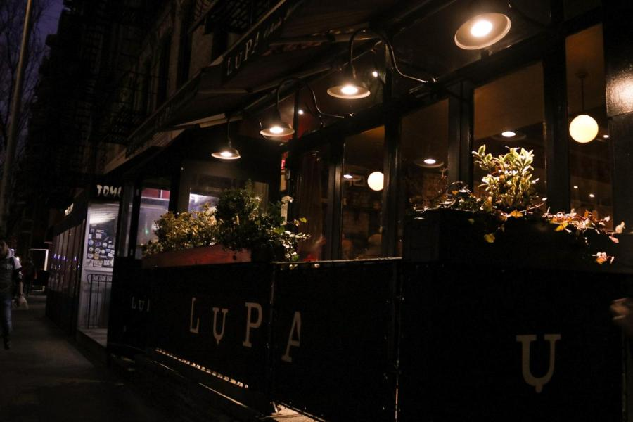 Lupa is a small Italian eatery on 170 Thompson St. Providing cheese-laden food with plenty of vegan-friendly options, this restaurant can help you find alternatives that actually taste good. (Staff photo by Alex Tran)