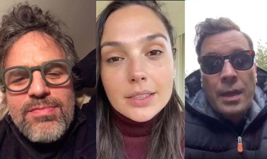 """A multitude of celebrities collaborated on an Instagram video singing John Lennon's """"Imagine,"""" coordinated by actress Gal Gadot. It is time to examine the actions and roles of these influential figures during a crisis that calls for change. (Images via Instagram @gal_gadot)"""