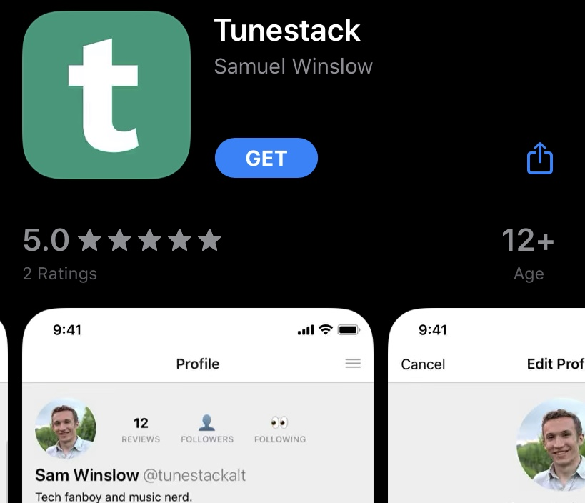Tunestack is a social media app built around sharing music with friends. The app was developed by Sam Winslow, a junior studying at Steinhardt. (Staff Photo by Leo Sheingate)