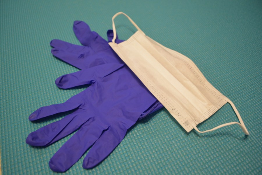 Gloves and masks are indispensable items for going out during the pandemic. Nonetheless, they are only a few of the changes made to dating in this weird time we are all experiencing. (Staff Photo by Manasa Gudavalli)