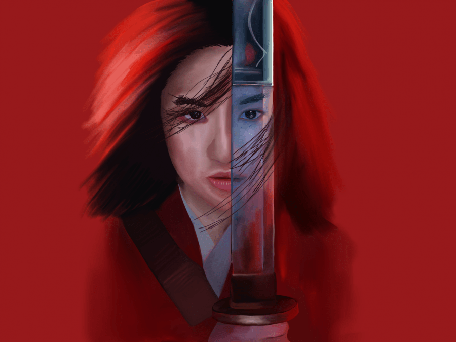 Mulan, recently released on Disney+, is the companys newest live-action remake in 2020. Attracting worldwide controversy with the crews political stance as well as poor ratings, the movie remains a disappointing watch. (Staff Illustration by Chelsea Li)