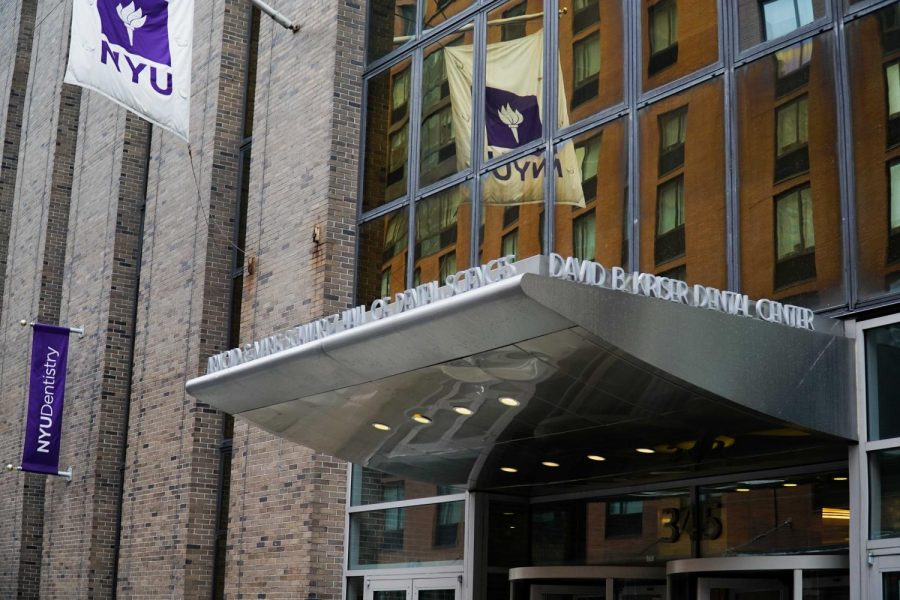 NYU College of Dentistry is located at 345 E. 24th Street. Recently, the school's student organizations have created a newsletter addressing racism on campus. (Photo by Min Ji Kim)