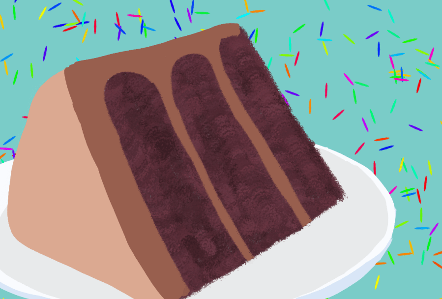 Sweet Corner Bakeshop had a storefront located on Hudson Street. The Bakeshop has since closed but its desserts have left a lasting impression. (Staff Illustration by Debbie Alalade)