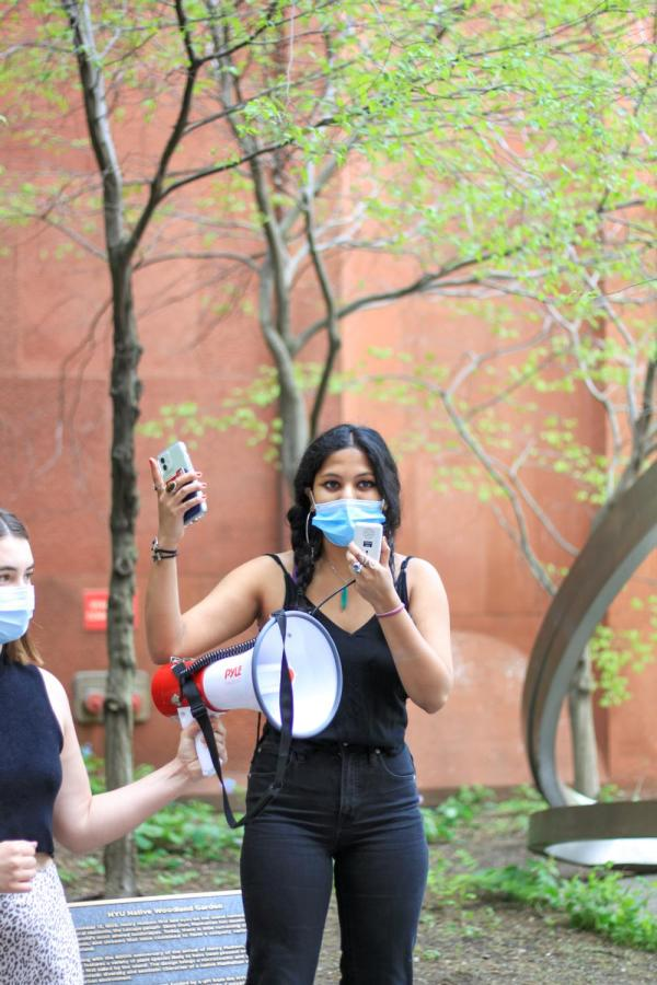 Natasha speaks about undergraduate solidarity.