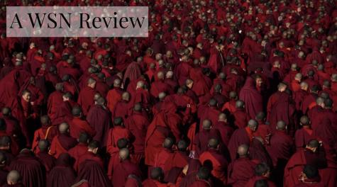 """Dark Red Forest"" is a documentary directed by Jin Huaqing. This documentary captures the annual retreat of thousands of red-cloaked Tibetan nuns to the Tibetan Plateau. (Photo Courtesy of Cinetic Media)"