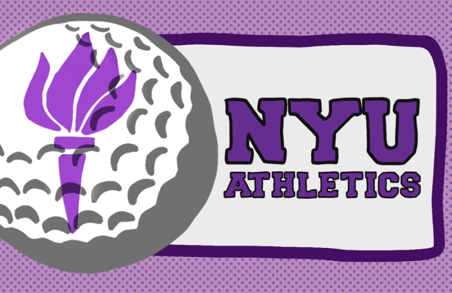 NYU men's and women's golf teams have seen immense success in recent years. On April 28th, Katie Rudolph was formally introduced as the new head coach of the NYU men's and women's golf team. (Staff Illustration by Debbie Alalade)