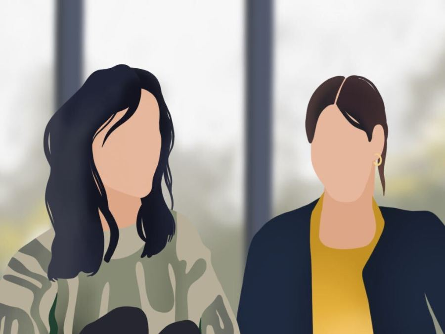 The D'Amelio Show offers a look into the everyday life of the internet-famous DAmelio family. Following the lives of teenage influencers Charli and Dixie, it explores the challenges their fame brings. (Staff Illustration by Susan Behrends Valenzuela)