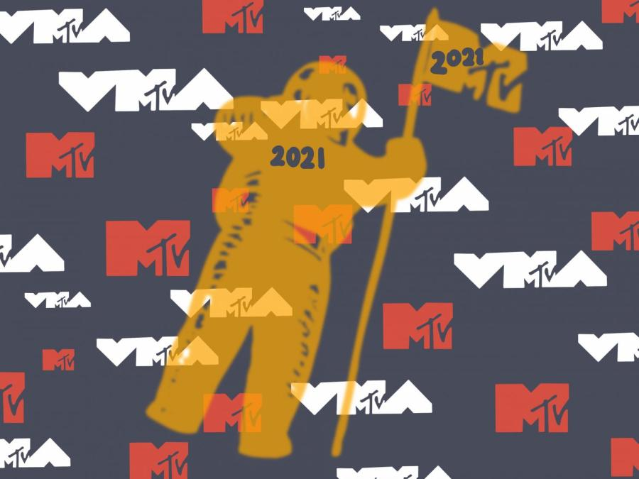 This year's MTV Video Music Awards returns to its live format to celebrate the channel's 40th anniversary. The 2021 VMAs were held at the Barclays Center in Brooklyn on September 12. (Staff Illustration by Manasa Gudavalli)
